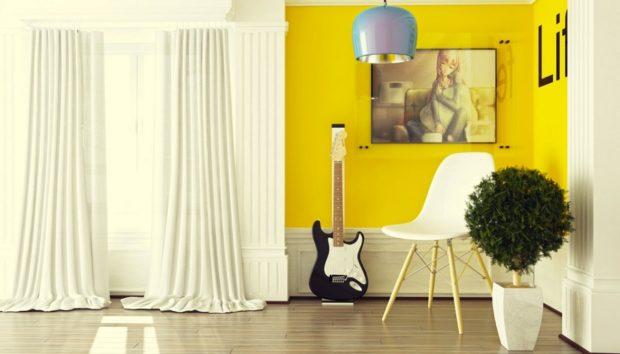 Βάλτε το Κίτρινο στην Διακόσμηση και Συνδυάστε το με Αυτά τα Χρώματα